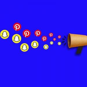 Social Advertising: Werben auf Snapchat & Pinterest